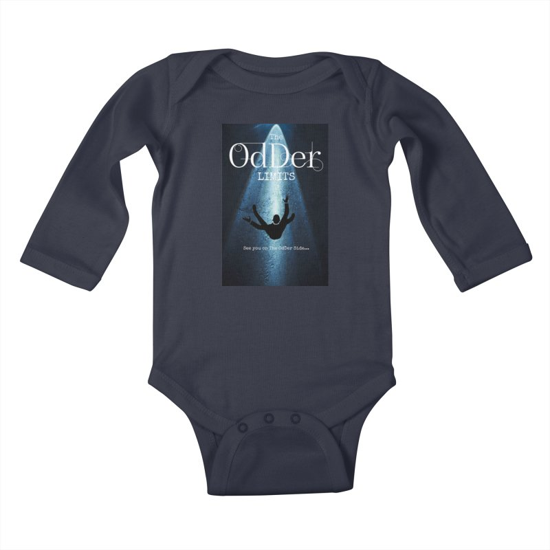 Abducted Kids Baby Longsleeve Bodysuit by The OdDer Limits Shop