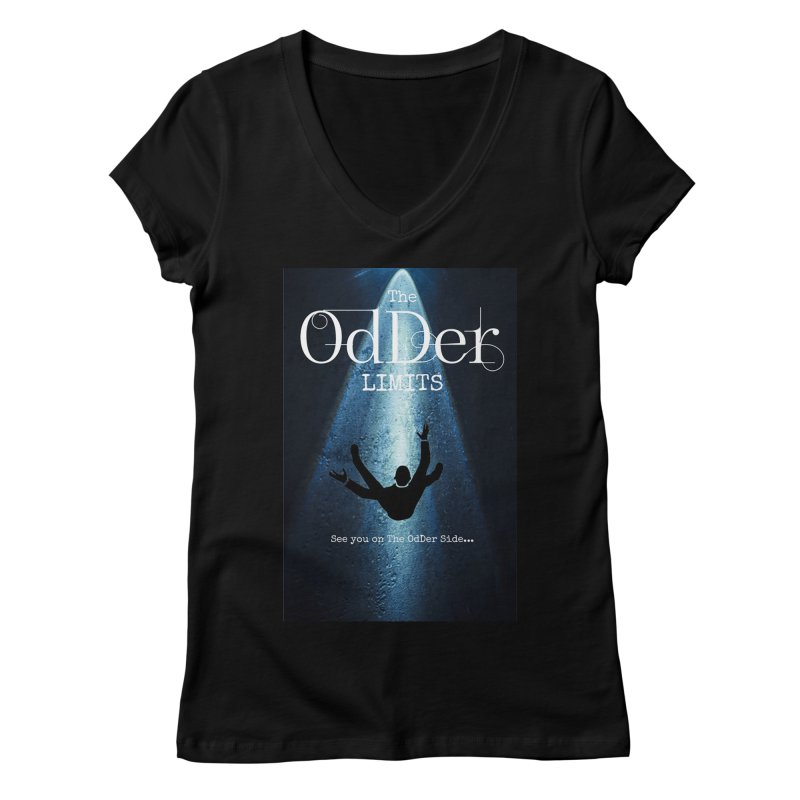 Abducted Women's V-Neck by The OdDer Limits Shop