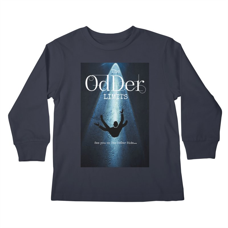 Abducted Kids Longsleeve T-Shirt by The OdDer Limits Shop