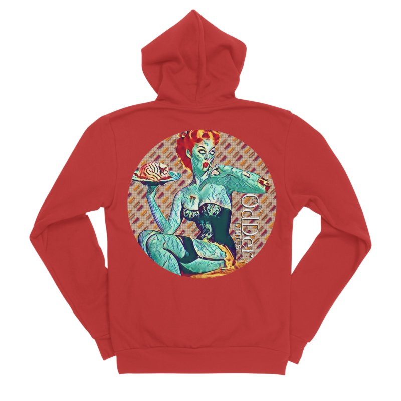 Dinner is Served Men's Zip-Up Hoody by The OdDer Limits Shop