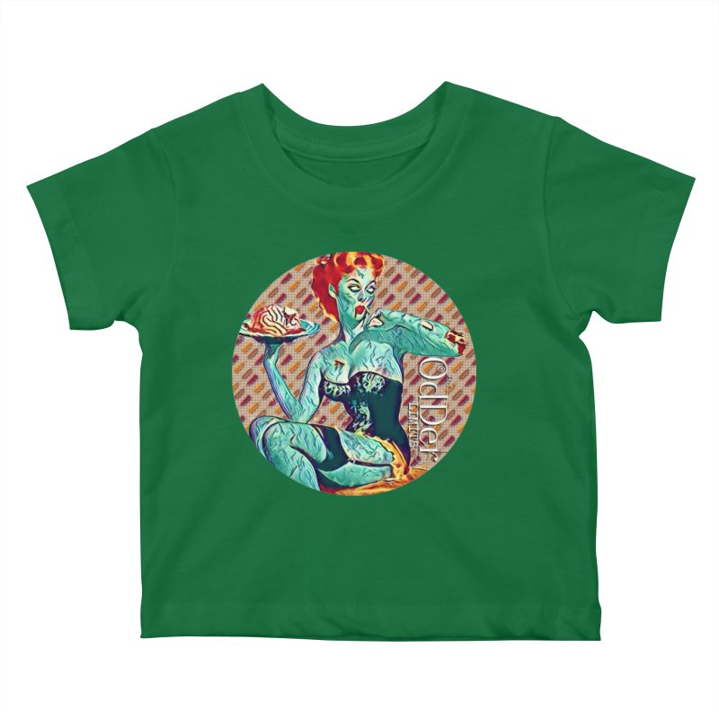 Dinner is Served Kids Baby T-Shirt by The OdDer Limits Shop