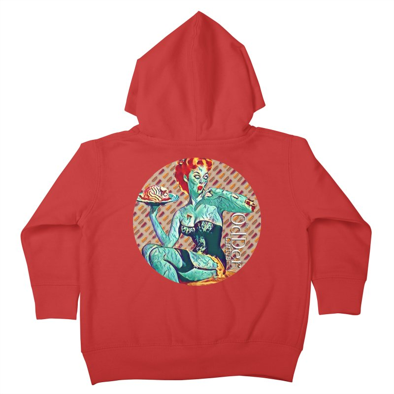 Dinner is Served Kids Toddler Zip-Up Hoody by The OdDer Limits Shop