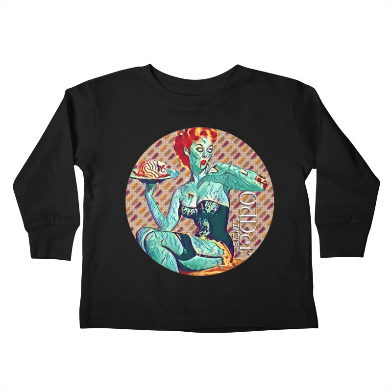 Dinner is Served Kids Toddler Longsleeve T-Shirt by The OdDer Limits Shop