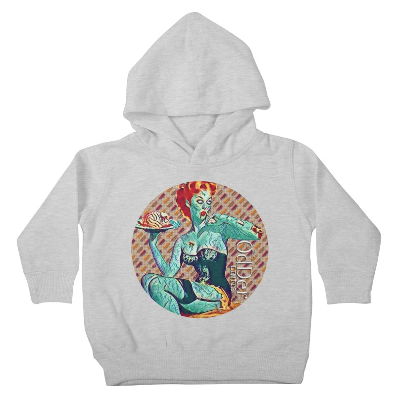 Dinner is Served Kids Toddler Pullover Hoody by The OdDer Limits Shop