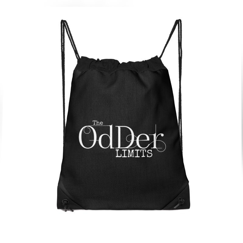 The OdDer Limits Logo - White Accessories Bag by The OdDer Limits Shop