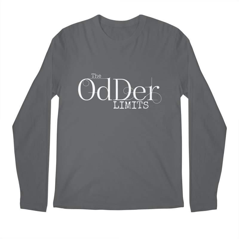 The OdDer Limits Logo - White Men's Longsleeve T-Shirt by The OdDer Limits Shop