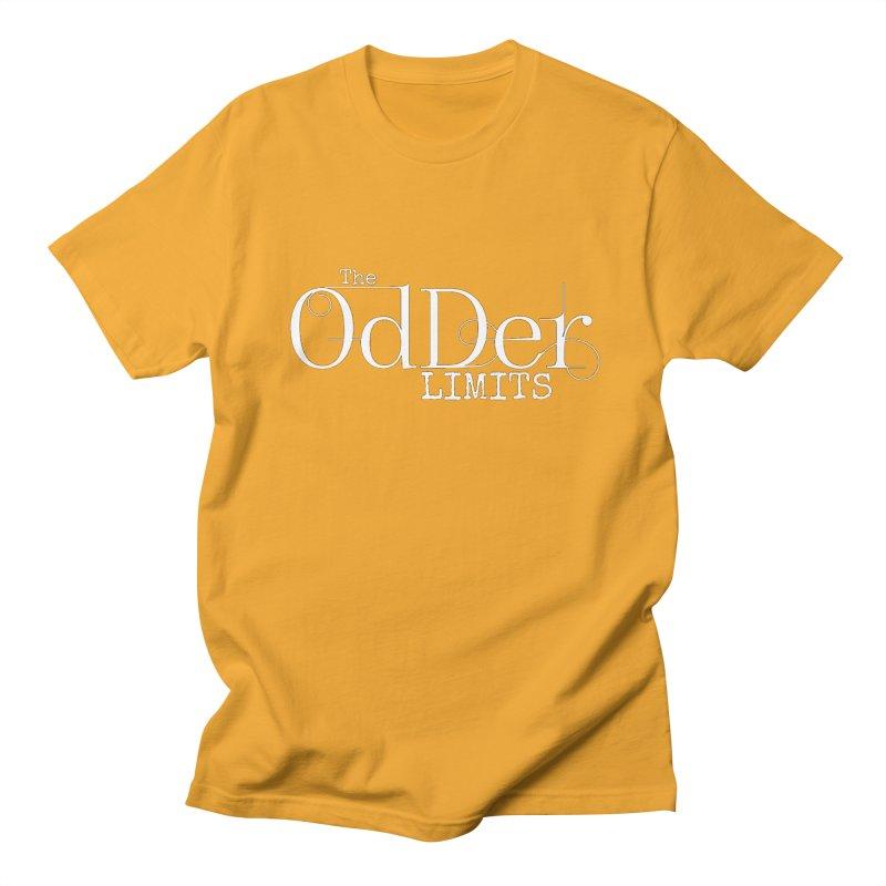 The OdDer Limits Logo - White Men's T-Shirt by The OdDer Limits Shop