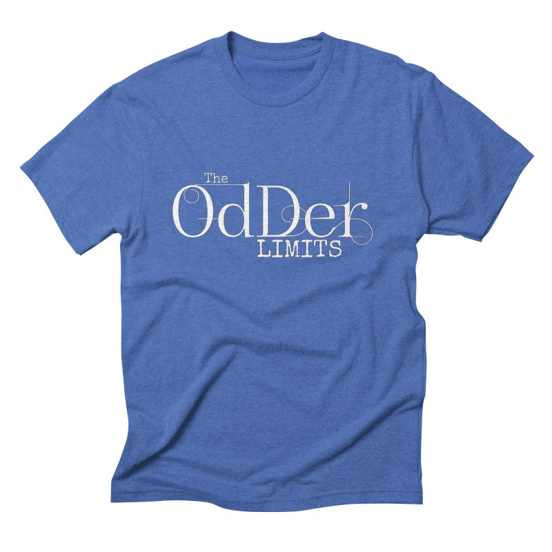 The OdDer Limits Logo - White Men's T-Shirt by The OdDer Limits Shop