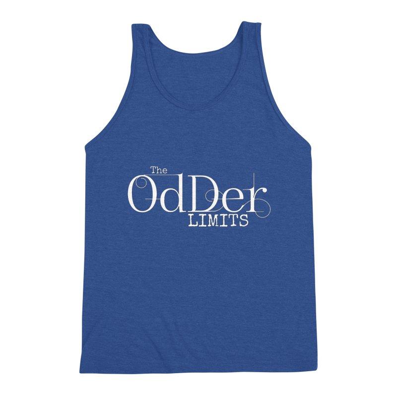 The OdDer Limits Logo - White Men's Tank by The OdDer Limits Shop