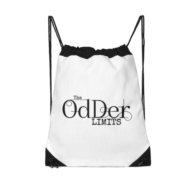The OdDer Limits Logo - Black Accessories Bag by The OdDer Limits Shop