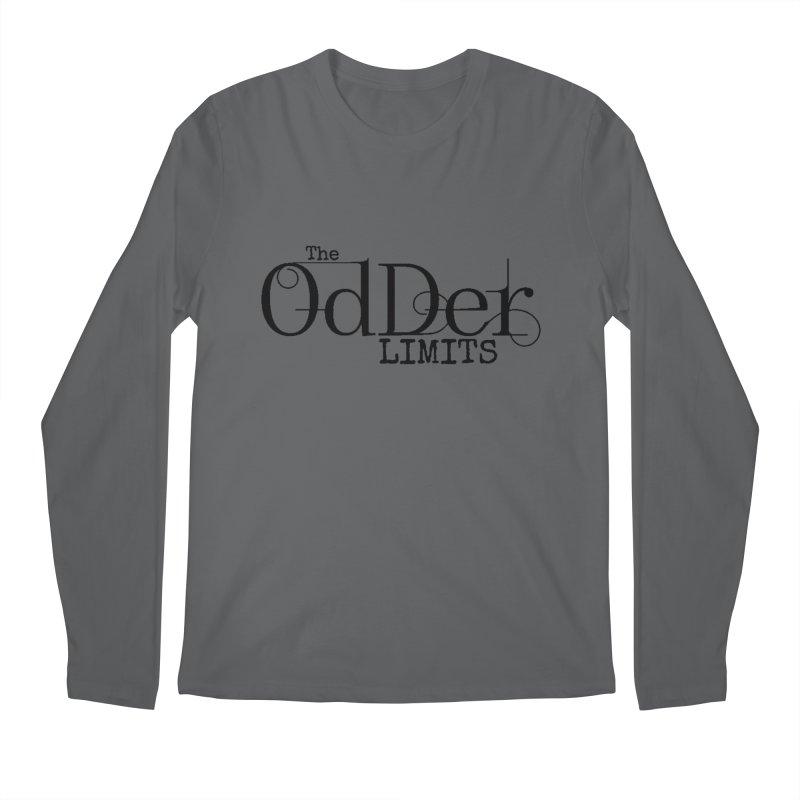 The OdDer Limits Logo - Black Men's Longsleeve T-Shirt by The OdDer Limits Shop