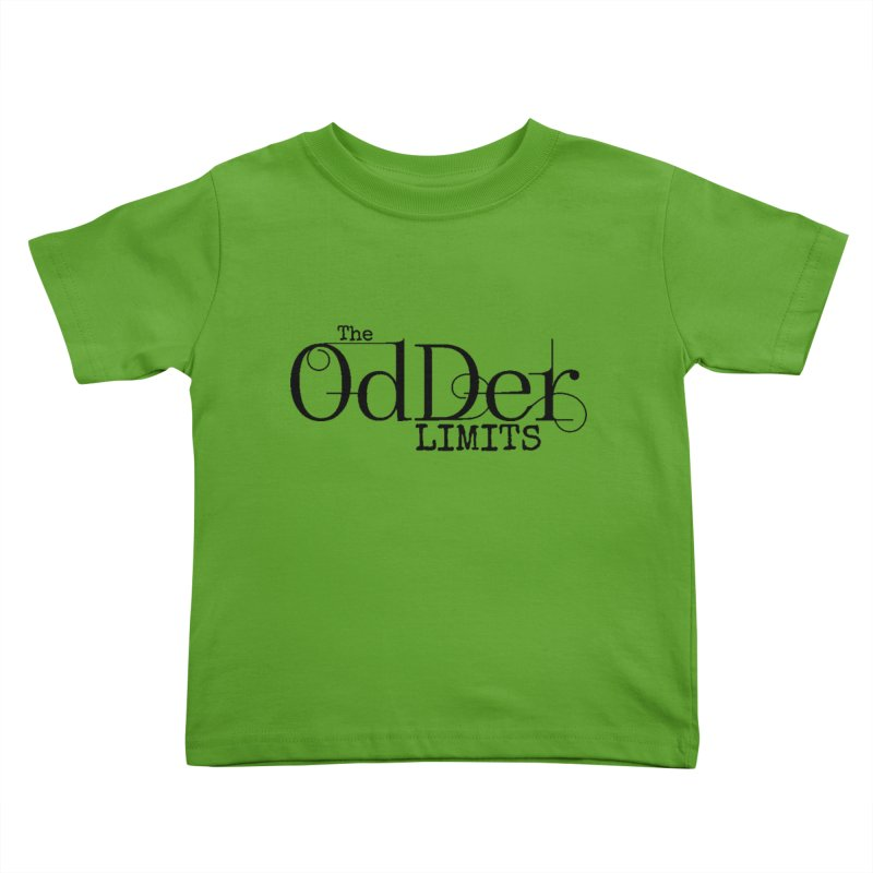 The OdDer Limits Logo - Black Kids Toddler T-Shirt by The OdDer Limits Shop