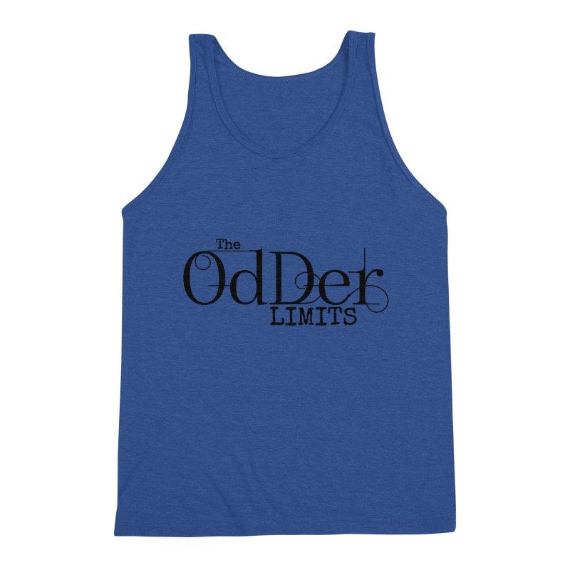 The OdDer Limits Logo - Black Men's Tank by The OdDer Limits Shop