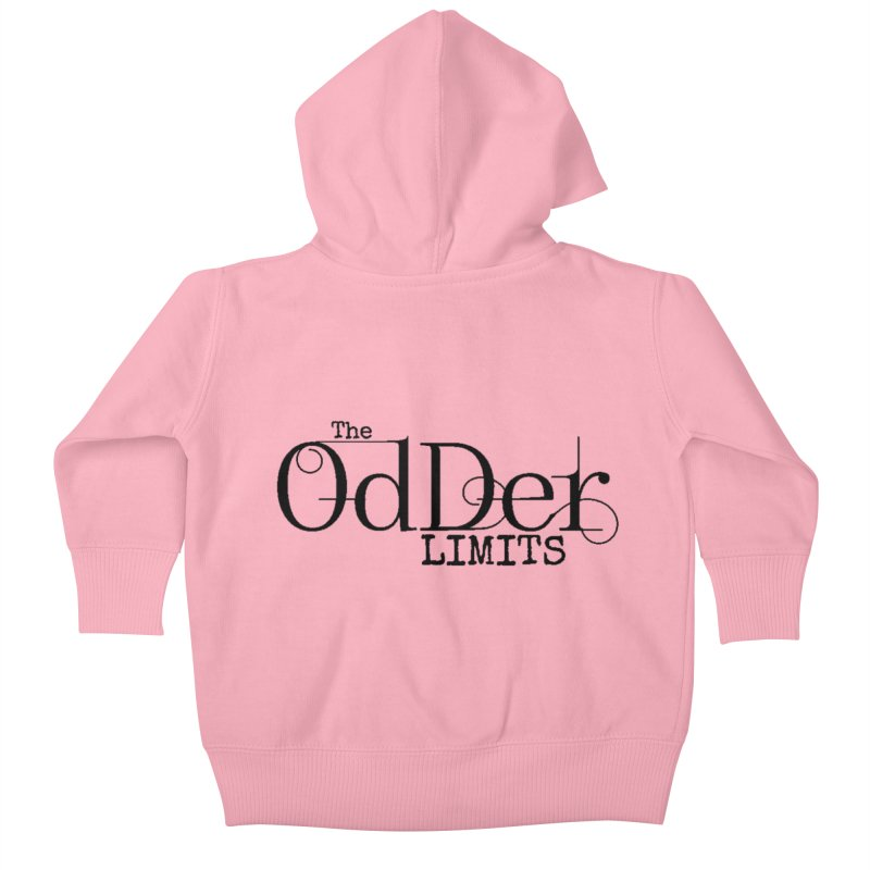 The OdDer Limits Logo - Black Kids Baby Zip-Up Hoody by The OdDer Limits Shop