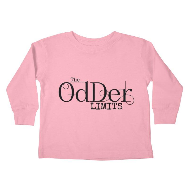 The OdDer Limits Logo - Black Kids Toddler Longsleeve T-Shirt by The OdDer Limits Shop