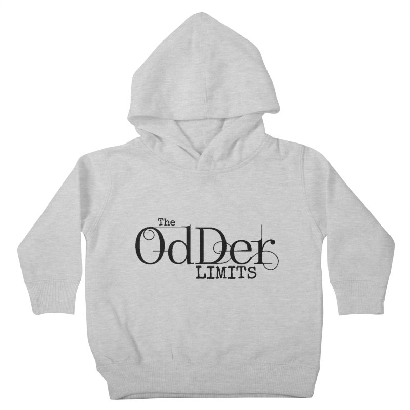 The OdDer Limits Logo - Black Kids Toddler Pullover Hoody by The OdDer Limits Shop