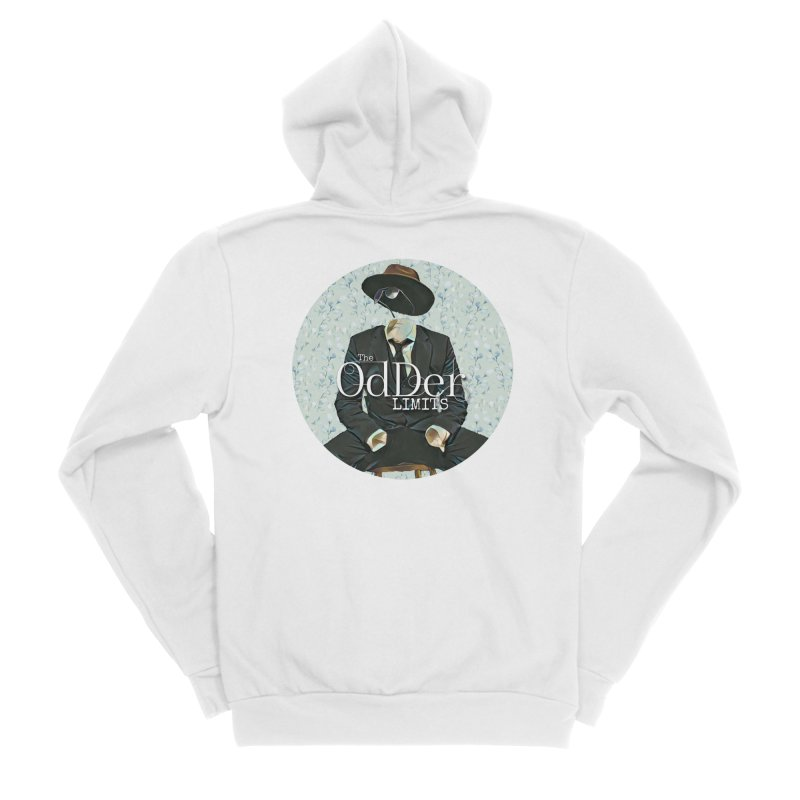 Without A Trace Women's Zip-Up Hoody by The OdDer Limits Shop