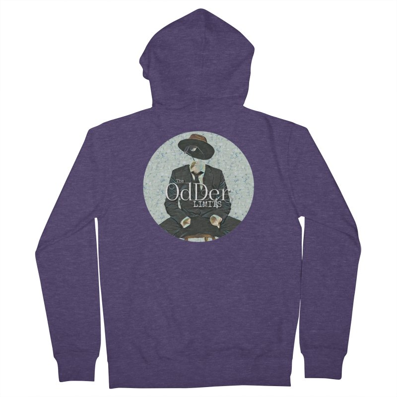 Without A Trace Men's Zip-Up Hoody by The OdDer Limits Shop