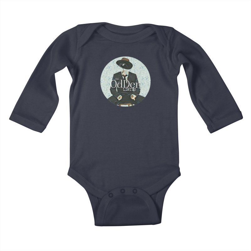 Without A Trace Kids Baby Longsleeve Bodysuit by The OdDer Limits Shop