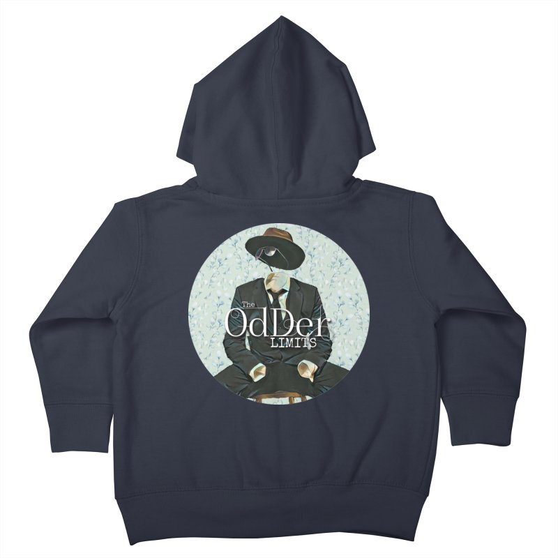 Without A Trace Kids Toddler Zip-Up Hoody by The OdDer Limits Shop