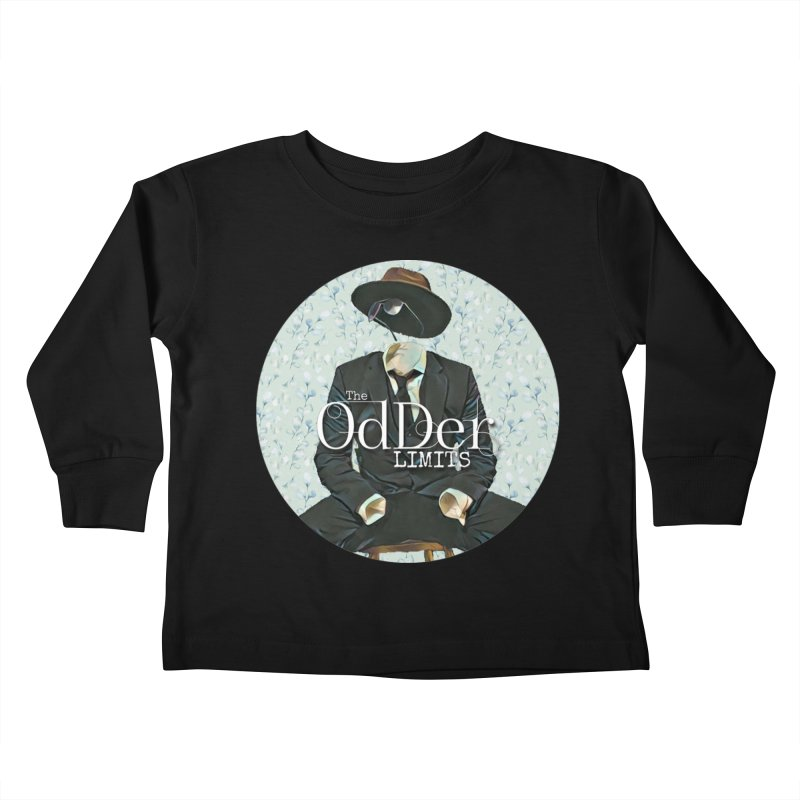 Without A Trace Kids Toddler Longsleeve T-Shirt by The OdDer Limits Shop