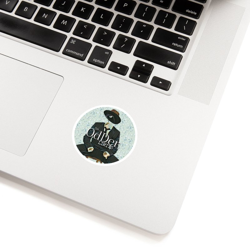 Without A Trace Accessories Sticker by The OdDer Limits Shop