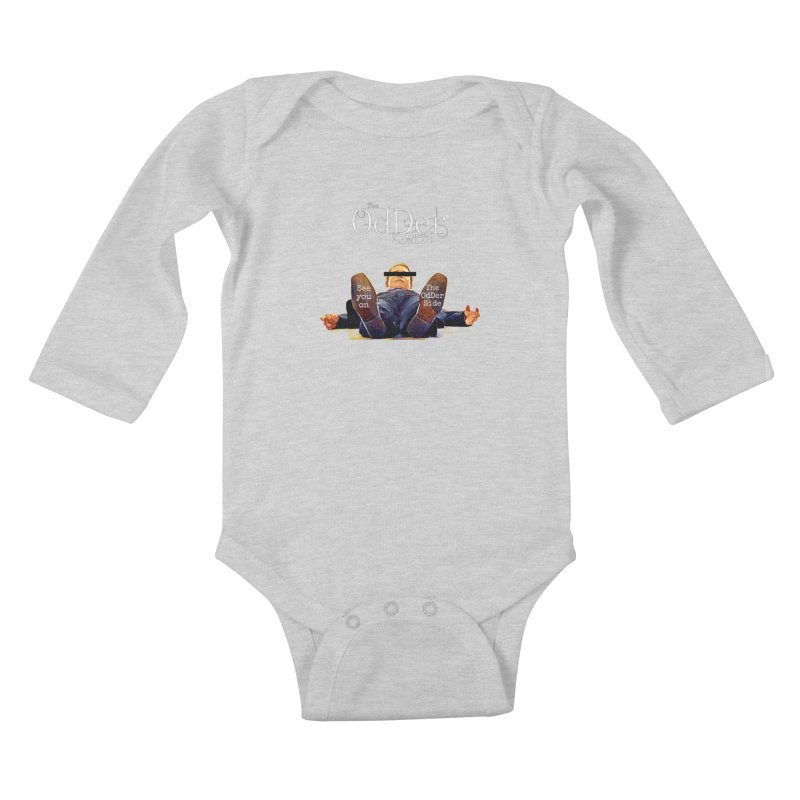 See You Soon Kids Baby Longsleeve Bodysuit by The OdDer Limits Shop
