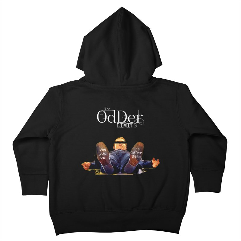 See You Soon Kids Toddler Zip-Up Hoody by The OdDer Limits Shop