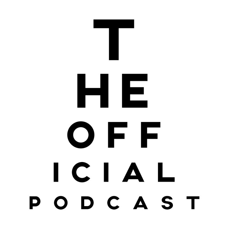The Official Eye Chart (Dark Variant) by theofficialpodcast's Artist Shop