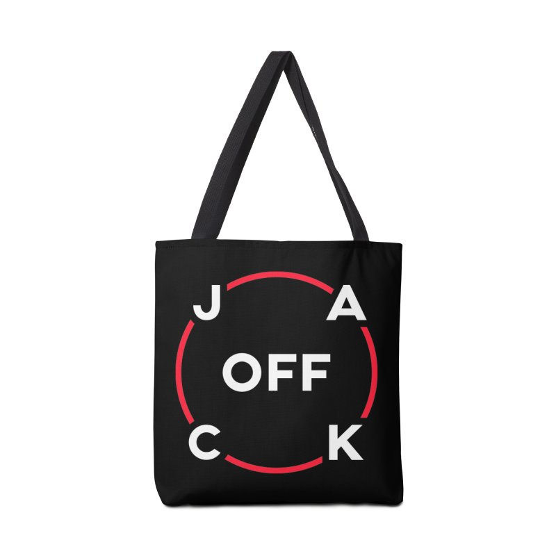 JACK Off (Classic Variant) Accessories Bag by theofficialpodcast's Artist Shop