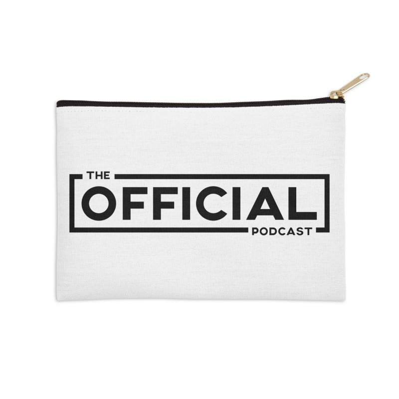 The Official Logo (Dark Variant) Accessories Zip Pouch by theofficialpodcast's Artist Shop