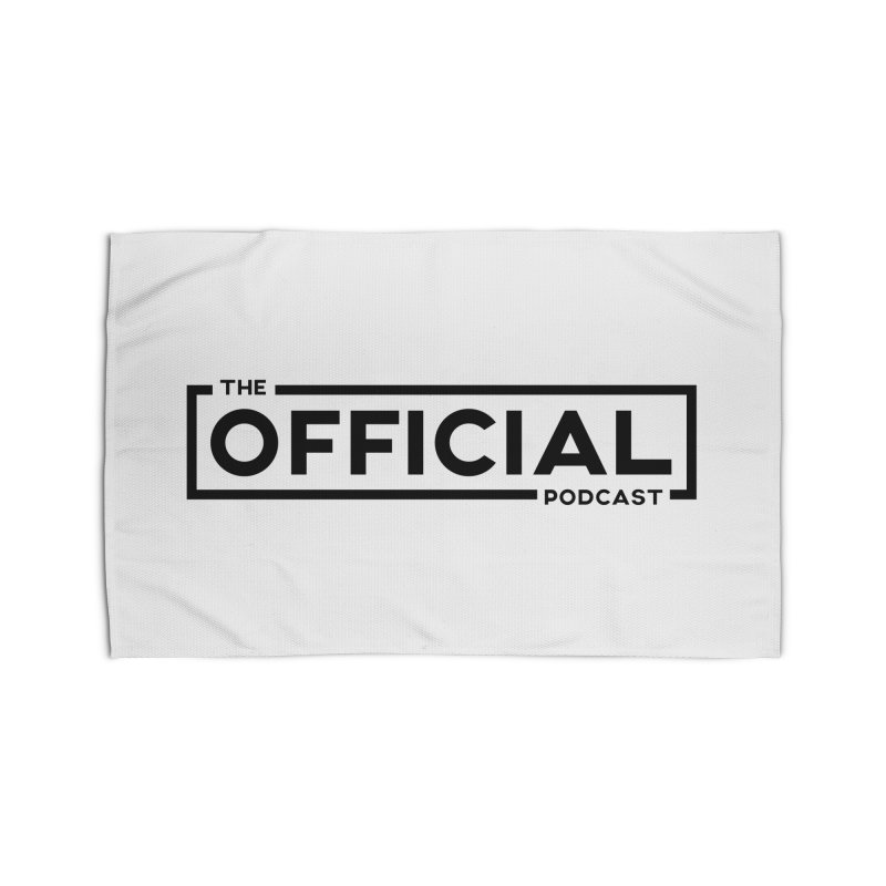 The Official Logo (Dark Variant) Home Rug by theofficialpodcast's Artist Shop