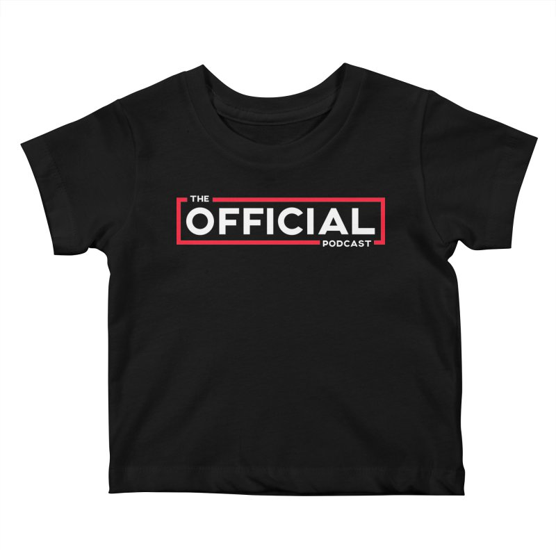 The Official Logo (Classic Variant) Kids Baby T-Shirt by theofficialpodcast's Artist Shop