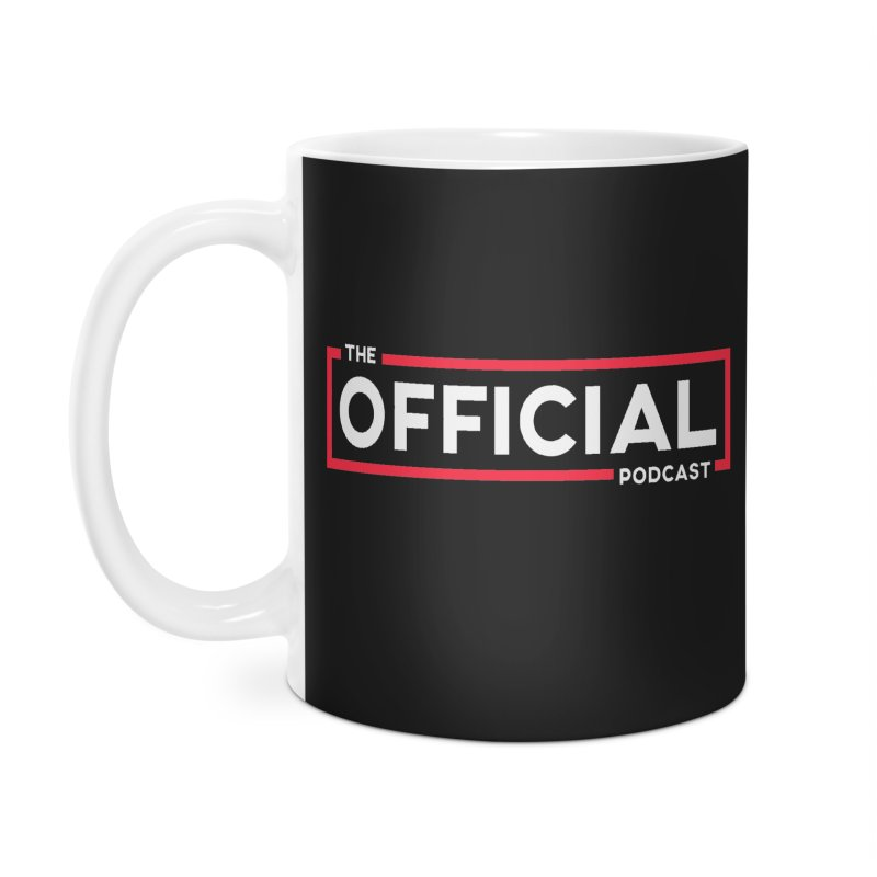 The Official Logo (Classic Variant) Accessories Mug by theofficialpodcast's Artist Shop