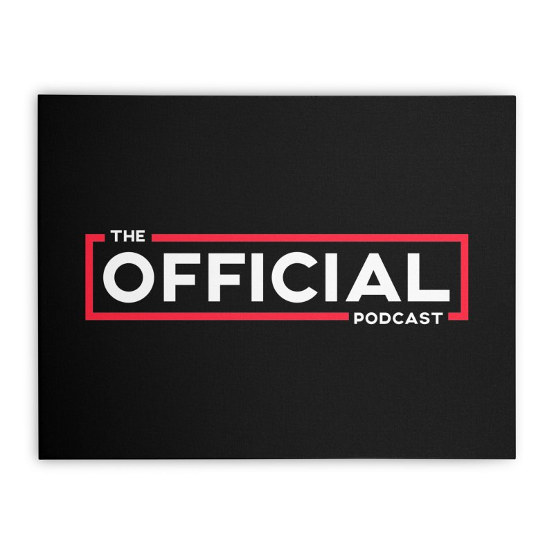 The Official Logo (Classic Variant) Home Stretched Canvas by theofficialpodcast's Artist Shop