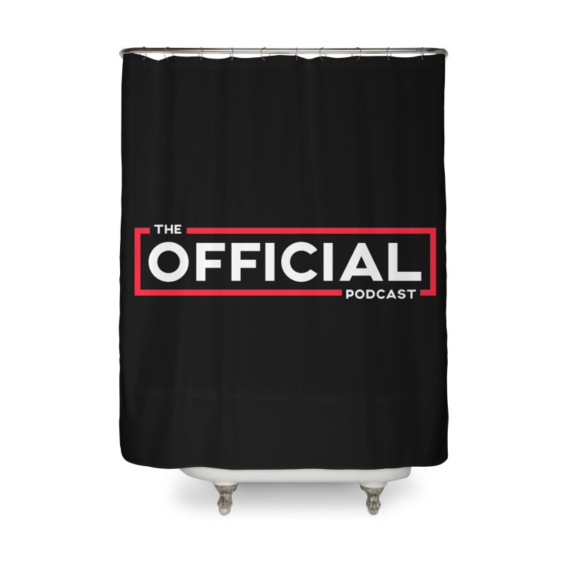 The Official Logo (Classic Variant) Home Shower Curtain by theofficialpodcast's Artist Shop
