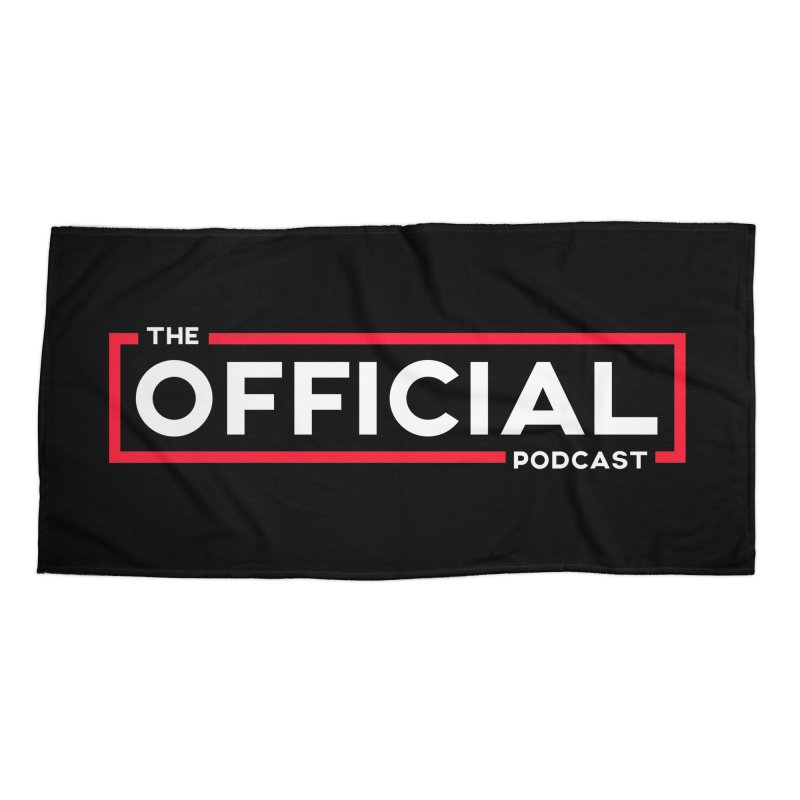 The Official Logo (Classic Variant) Accessories Beach Towel by theofficialpodcast's Artist Shop