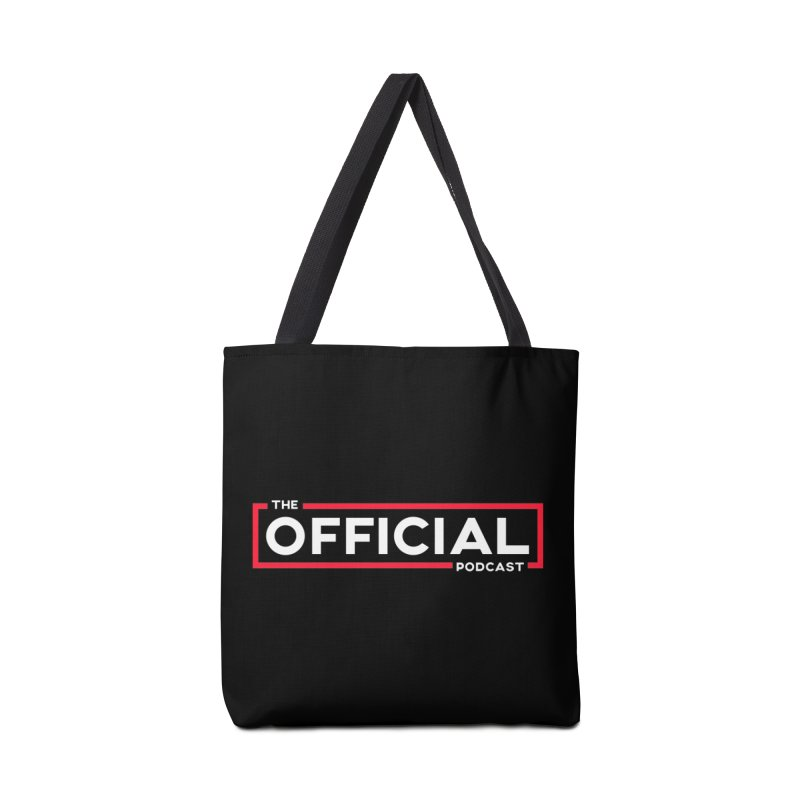The Official Logo (Classic Variant) Accessories Bag by theofficialpodcast's Artist Shop
