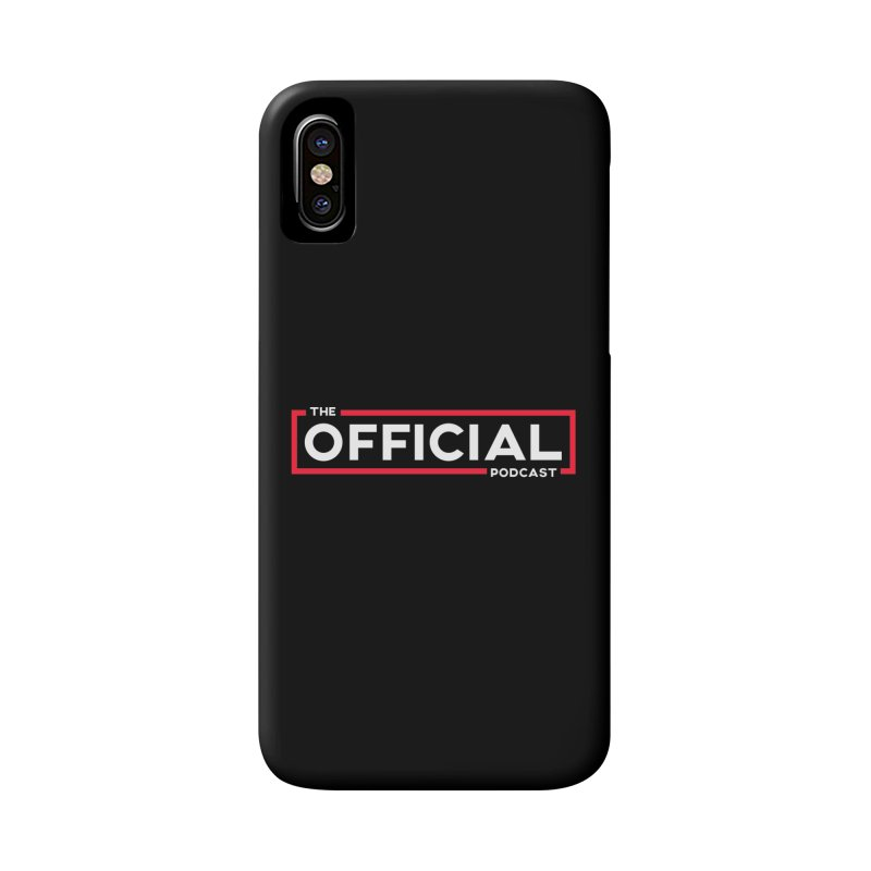 The Official Logo (Classic Variant) Accessories Phone Case by theofficialpodcast's Artist Shop