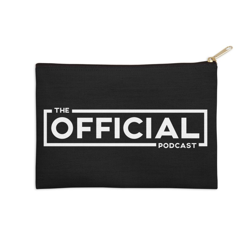 The Official Logo (Light Variant) Accessories Zip Pouch by theofficialpodcast's Artist Shop