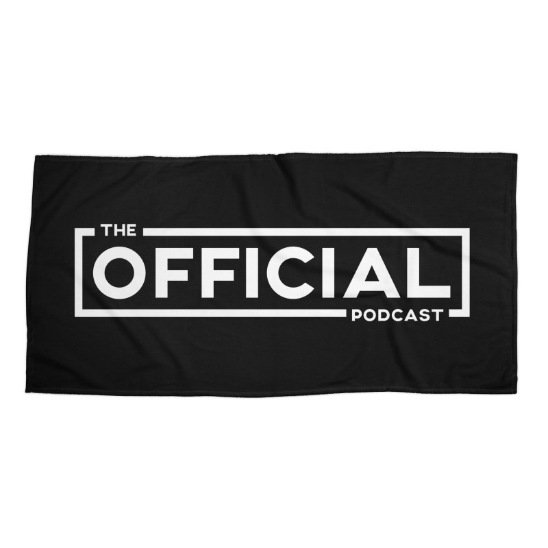 The Official Logo (Light Variant) Accessories Beach Towel by theofficialpodcast's Artist Shop