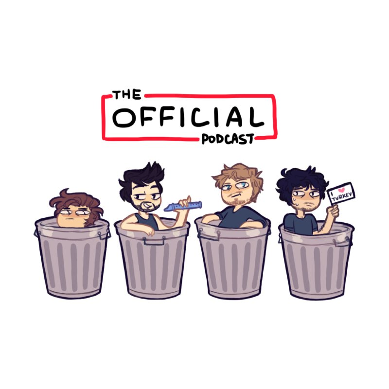 The Official Trash (Classic Variant) by theofficialpodcast's Artist Shop