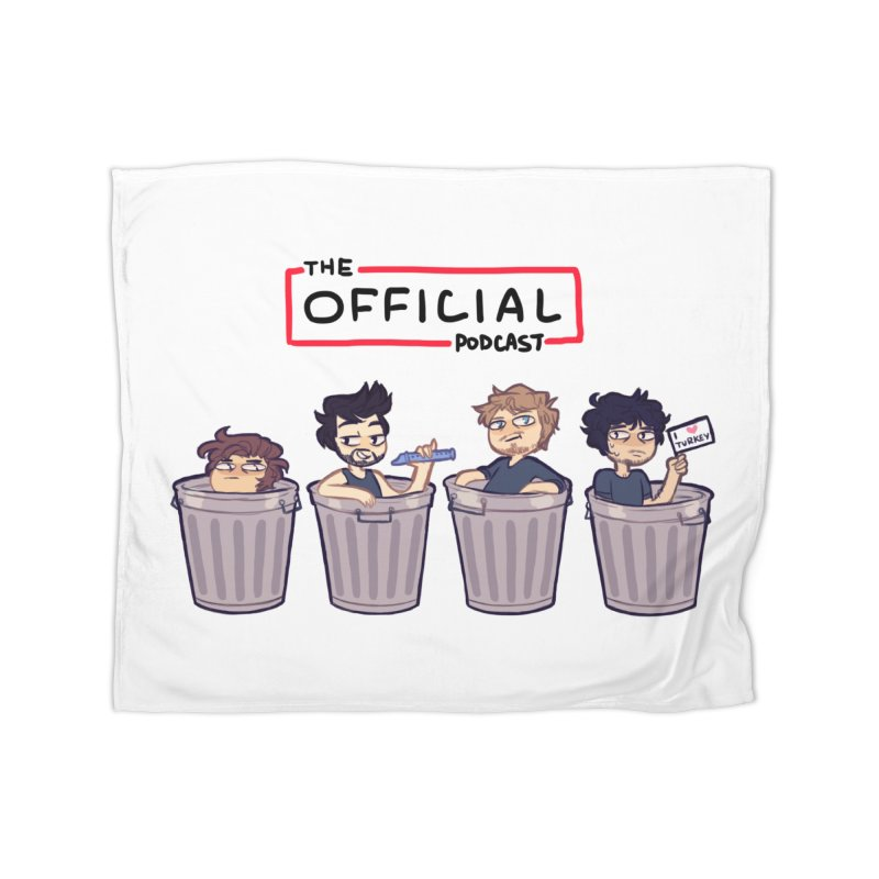 The Official Trash (Classic Variant) Home Blanket by theofficialpodcast's Artist Shop