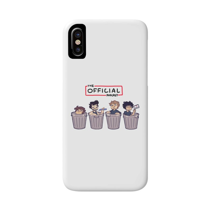 The Official Trash (Classic Variant) Accessories Phone Case by theofficialpodcast's Artist Shop