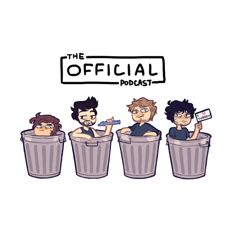 The Official Trash (Dark Variant) by theofficialpodcast's Artist Shop