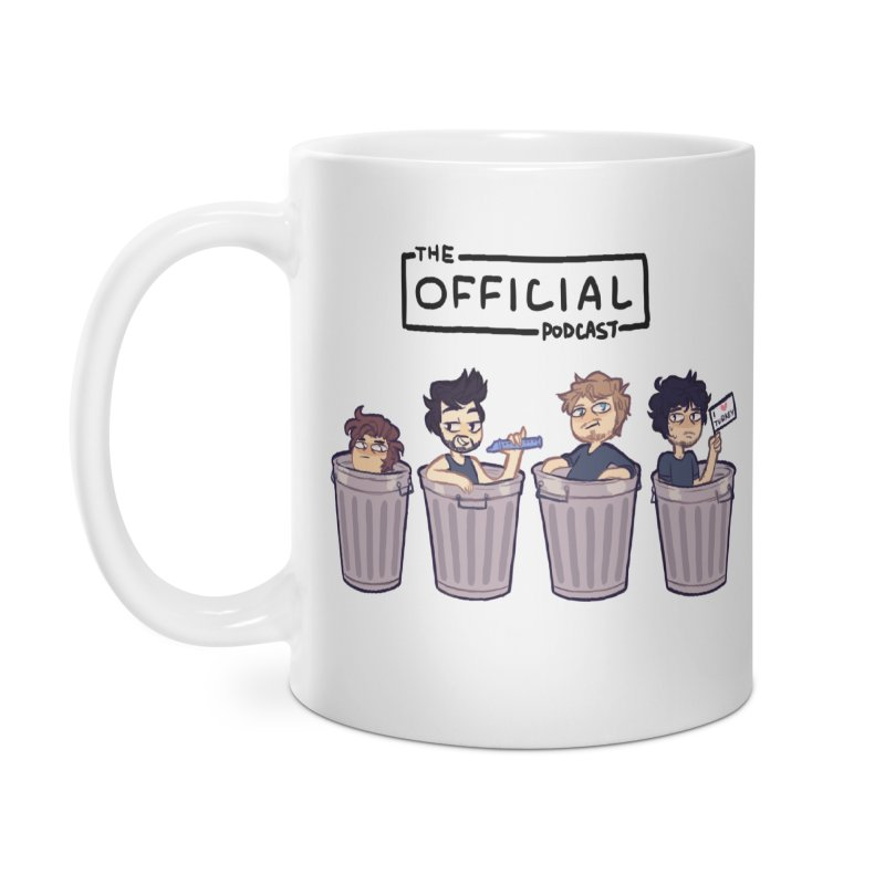 The Official Trash (Dark Variant) Accessories Mug by theofficialpodcast's Artist Shop