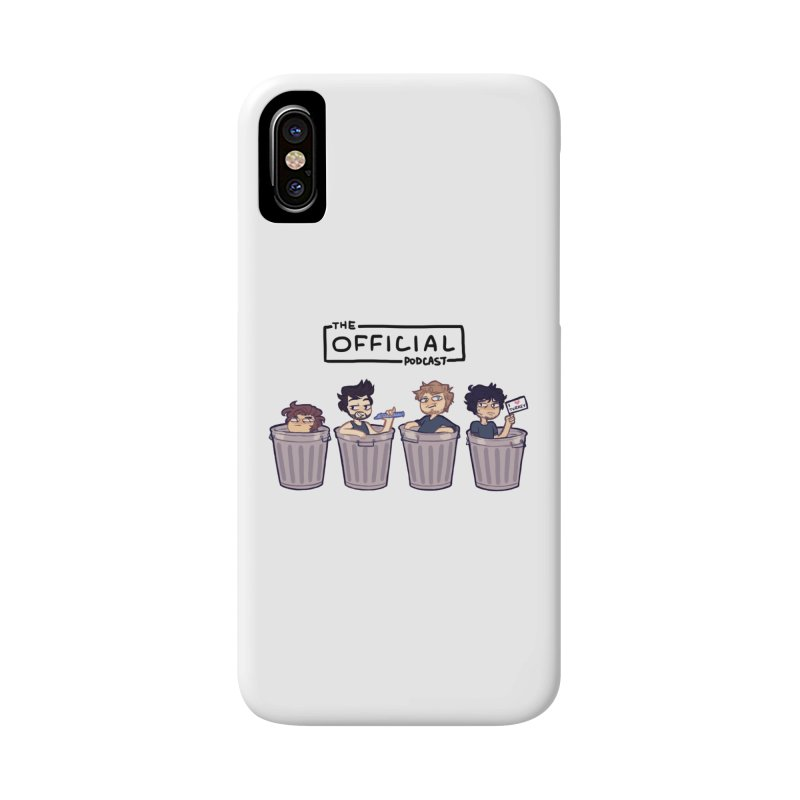 The Official Trash (Dark Variant) Accessories Phone Case by theofficialpodcast's Artist Shop