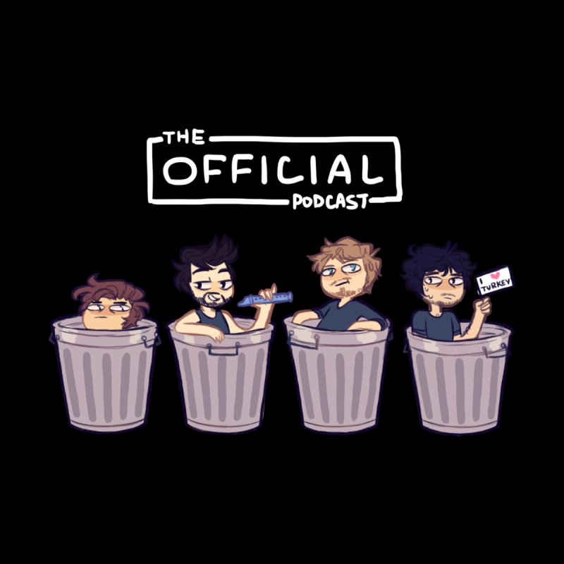 The Official Trash (Light Variant) by theofficialpodcast's Artist Shop