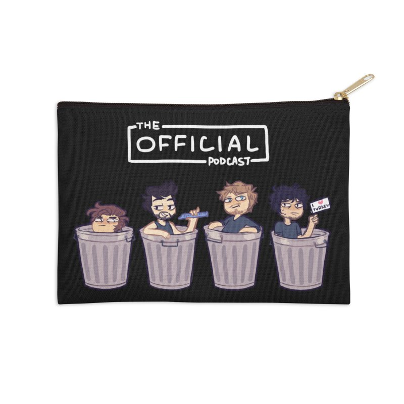 The Official Trash (Light Variant) Accessories Zip Pouch by theofficialpodcast's Artist Shop