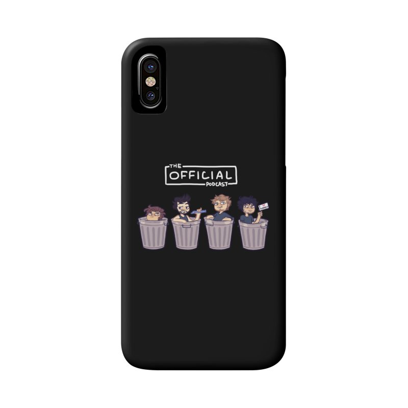The Official Trash (Light Variant) Accessories Phone Case by theofficialpodcast's Artist Shop